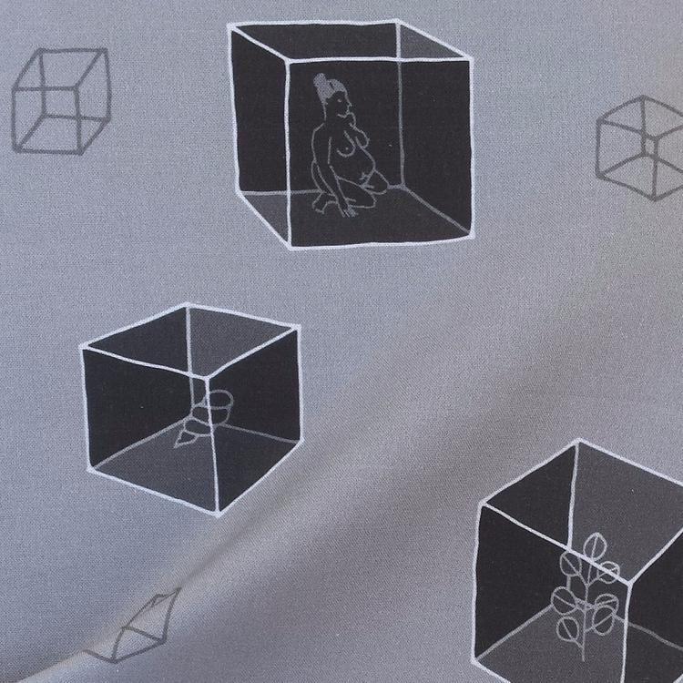 Cubes - pattern fabric wallcove - peninasharon | ello