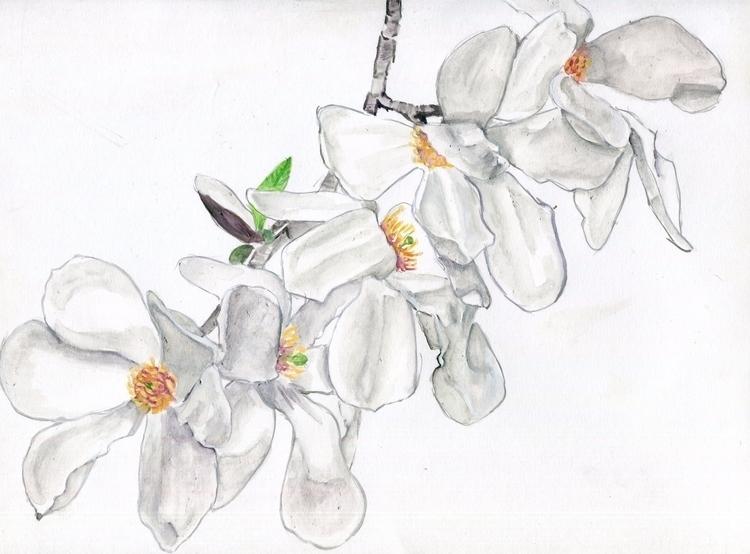 Flutter Watercolor, Gouache Chi - havekat | ello