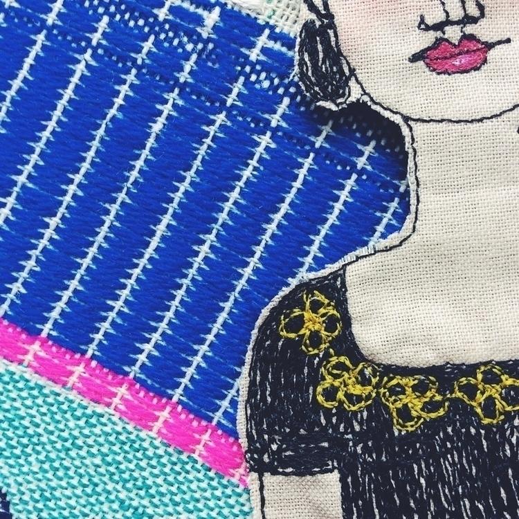 Tiny tiny detail closeup:blosso - alittlevintagedoll | ello