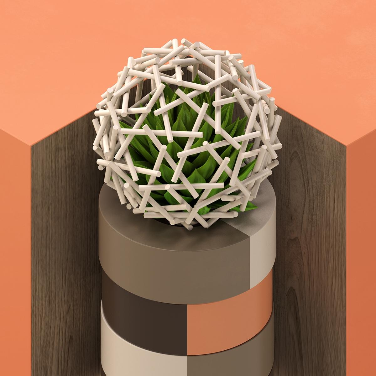 geometry - 3d, set, design, c4d - andreas_wannerstedt | ello