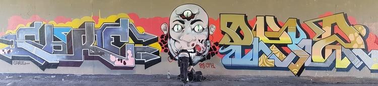 CARE, DWD, CFH, BYB, SIMIANSWITCH - graffitidordrecht | ello