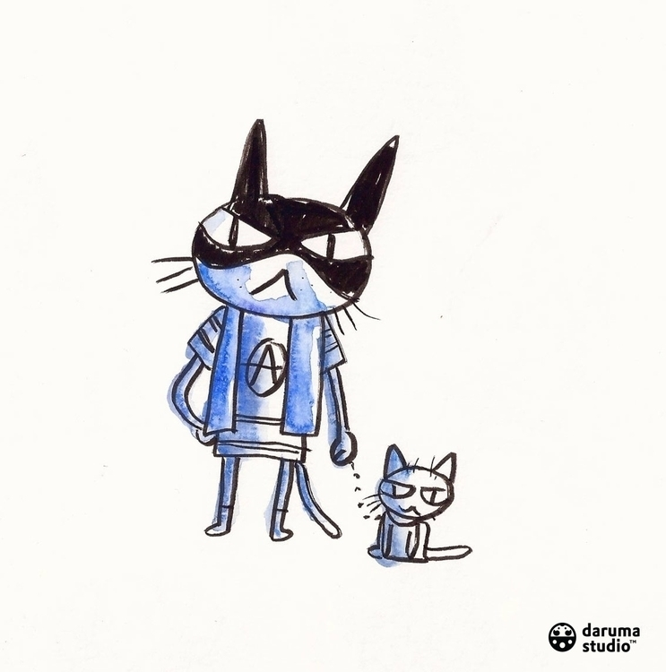 CATS GOTHAM Waynes, Kyles Cobbl - daruma_studio | ello
