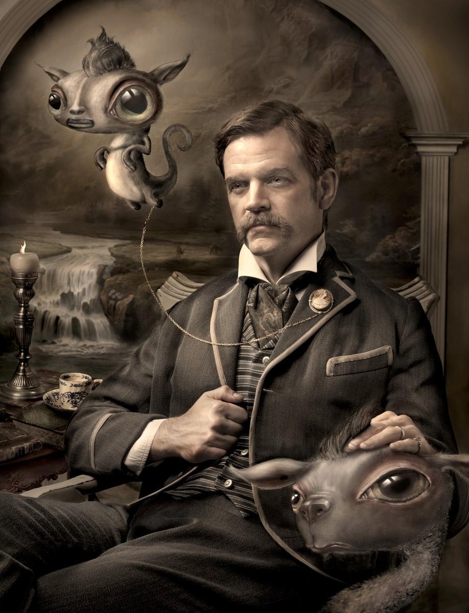 Hubris, artist portraits Scott  - ransom_mitchell | ello