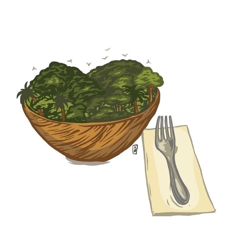 Human Consumption - illustration - thomcat23   ello