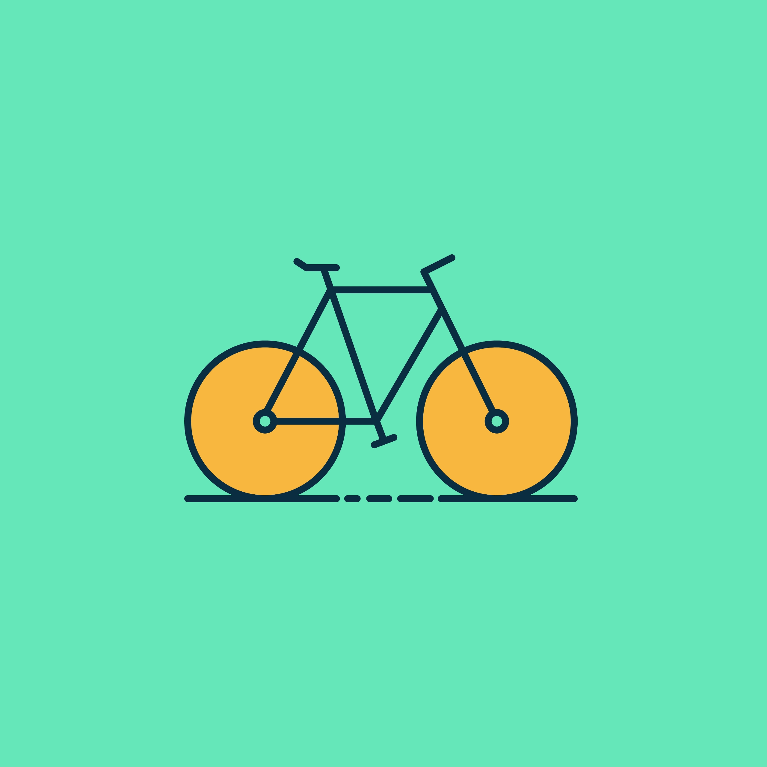 Illustration // Bike - design, illustration - ranaatasatan | ello