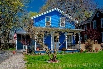 Blue House 1 4/27/13 Rochester - jwgalleries | ello