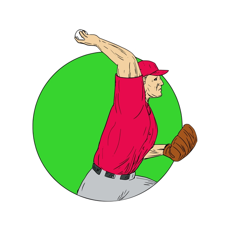 Ball Circle - Baseball, Pitcher - patrimonio | ello