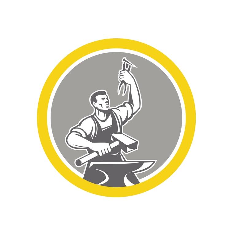 Holding Pliers Circle - Blacksmith - patrimonio | ello