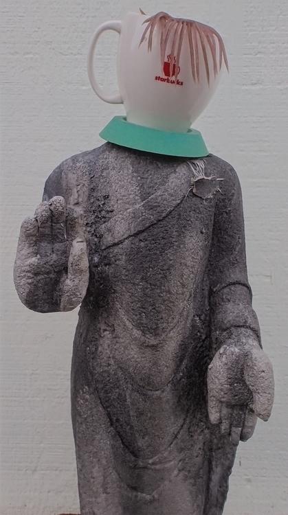 Standing Buddha series, Coffee  - knotter   ello