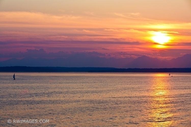 PUGET SOUND SUNSET View larger - rwi | ello