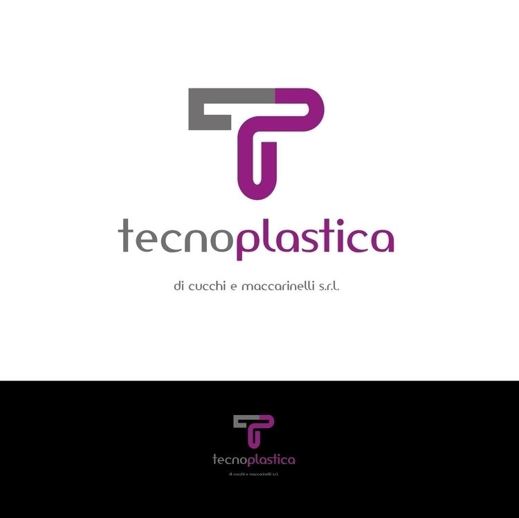 logo brand Tecnoplastica  - brand#logo#design#graphic#color - deborageraci | ello