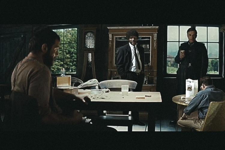 Scenes Pulp Basterds film colla - stevening | ello