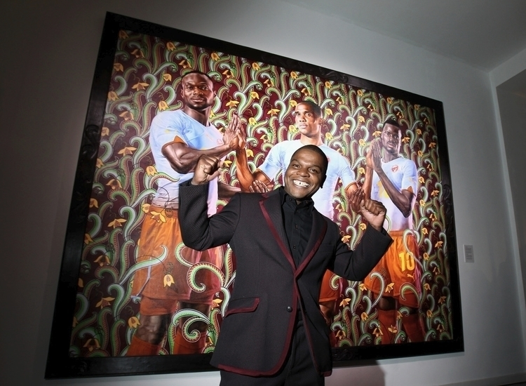 Kehinde Wiley portrait painter - decorkiki | ello