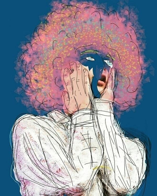 Head Clouds - illustration, digital - raymonddias | ello