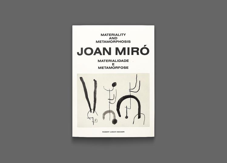 Catalogue design Miró Exhibitio - nonverbalclub | ello