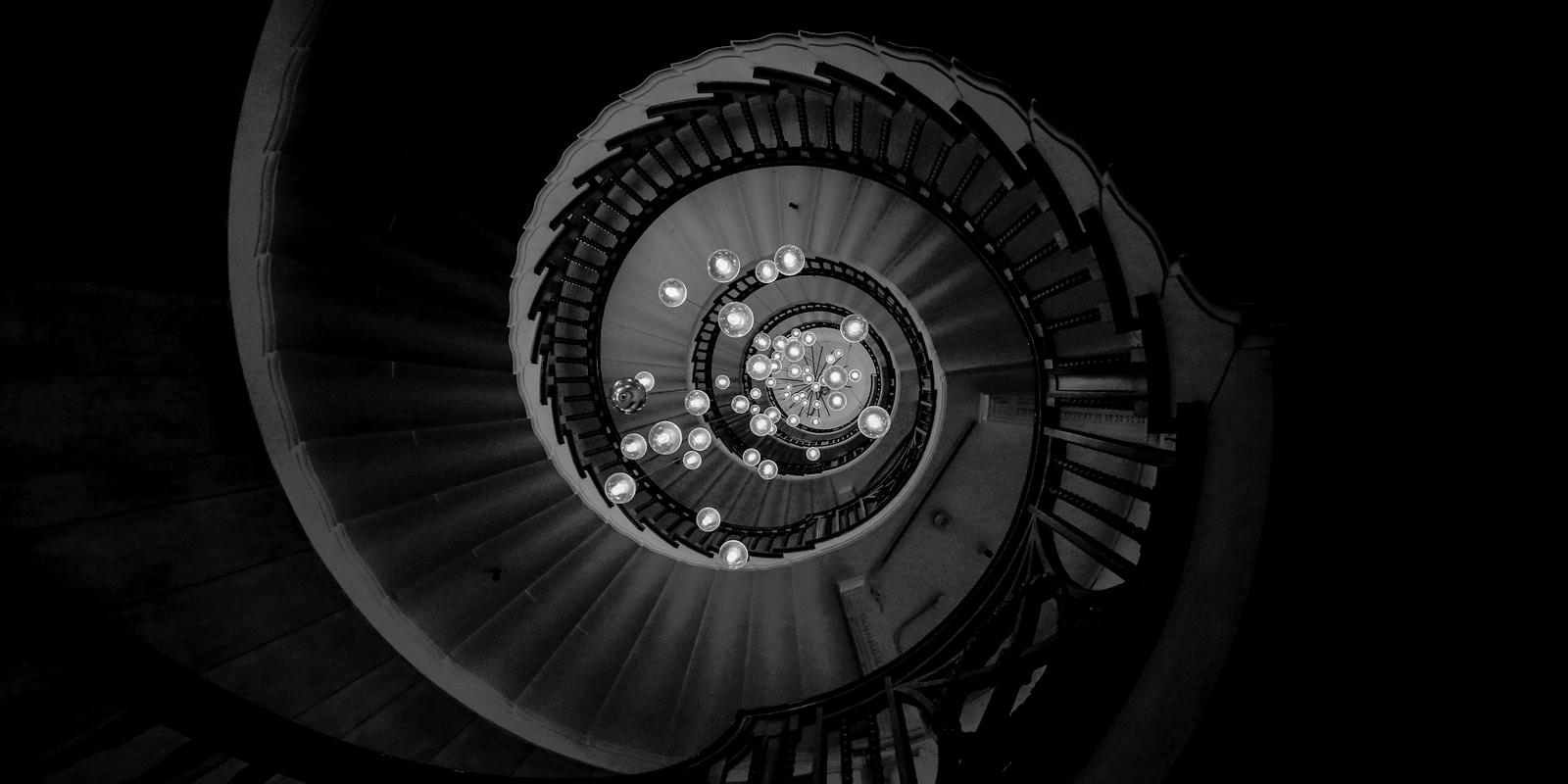 spiral staircase. department st - salz | ello