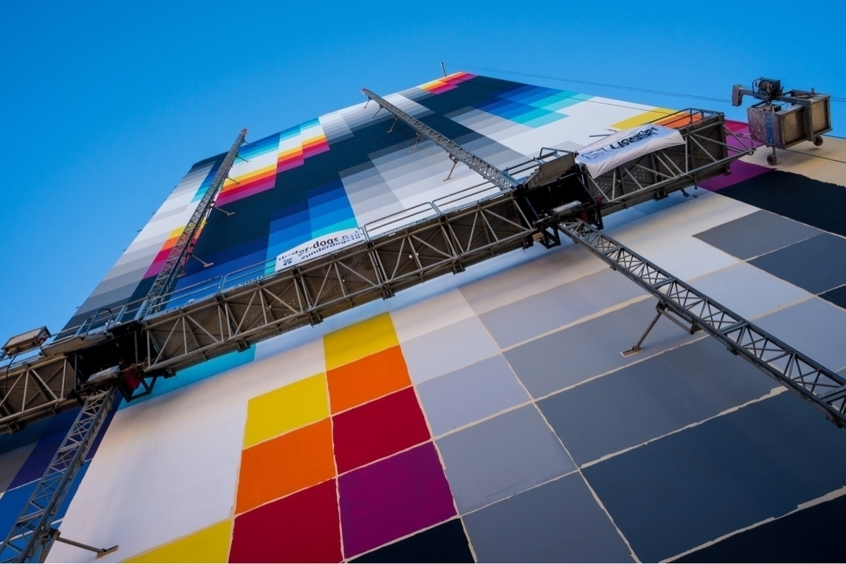 _Mural artist extraordinaire_ M - cgwarex | ello