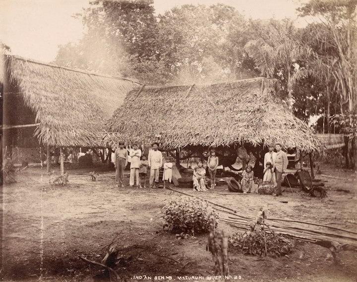 Demerara Indian Village, 1880s - guyfrog16 | ello