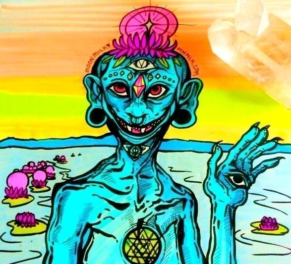 Lotus Shaman - moonmilkbabies | ello