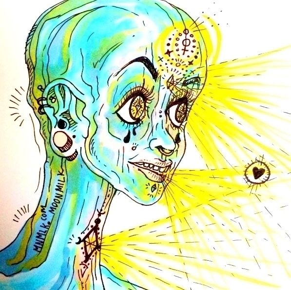 Cosmic Lady - moonmilkbabies | ello