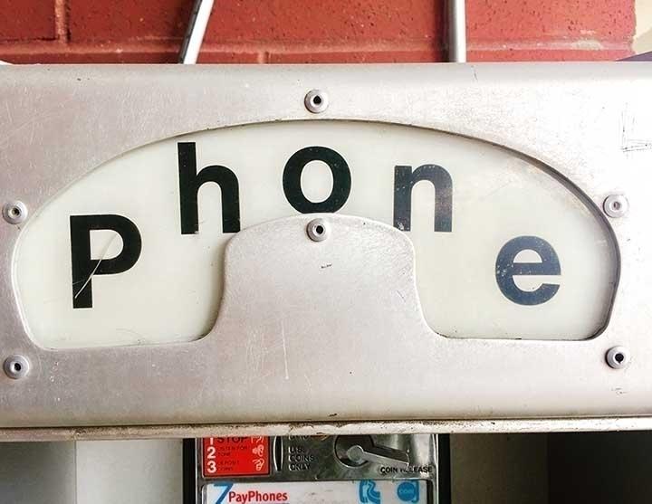 pay phone signage 04/07/2017 ty - coloradocatalyst | ello