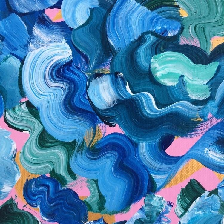 art, abstract, painting - dhuston | ello