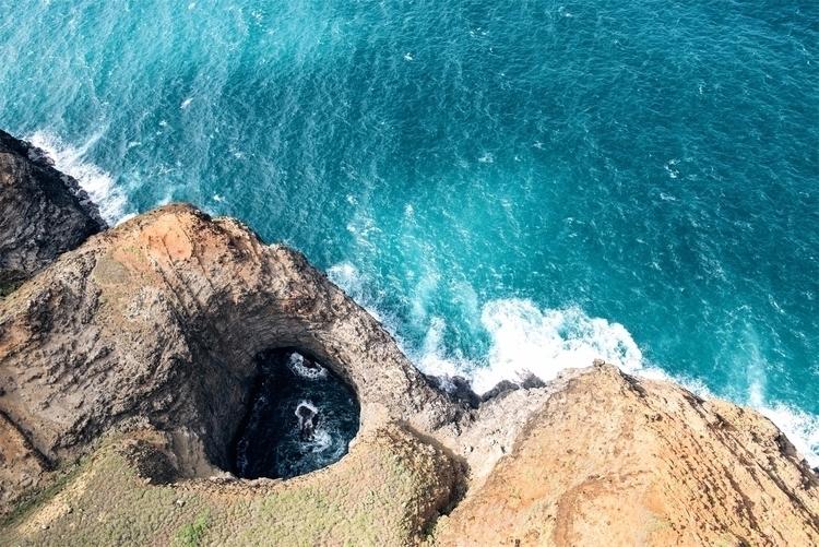 Na Pali Textures II Kauai - landscape - neonicecream | ello