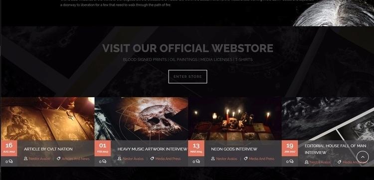 Official Webstore online - Shop - nestoravalosofficialblackartssite   ello