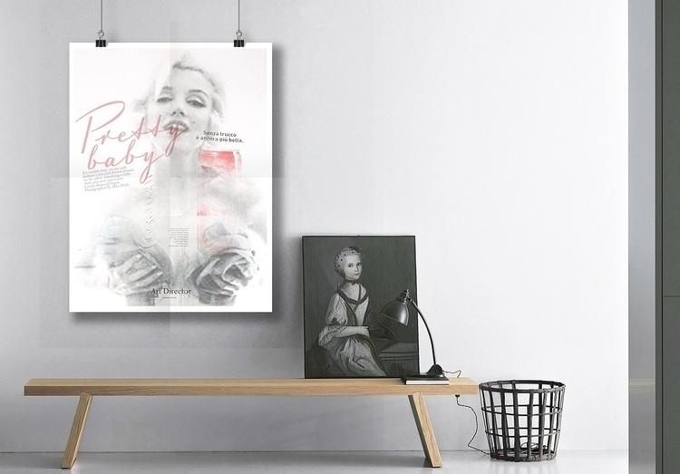 Poster Marylin 50x70 cm € 180 c - deborageraci | ello