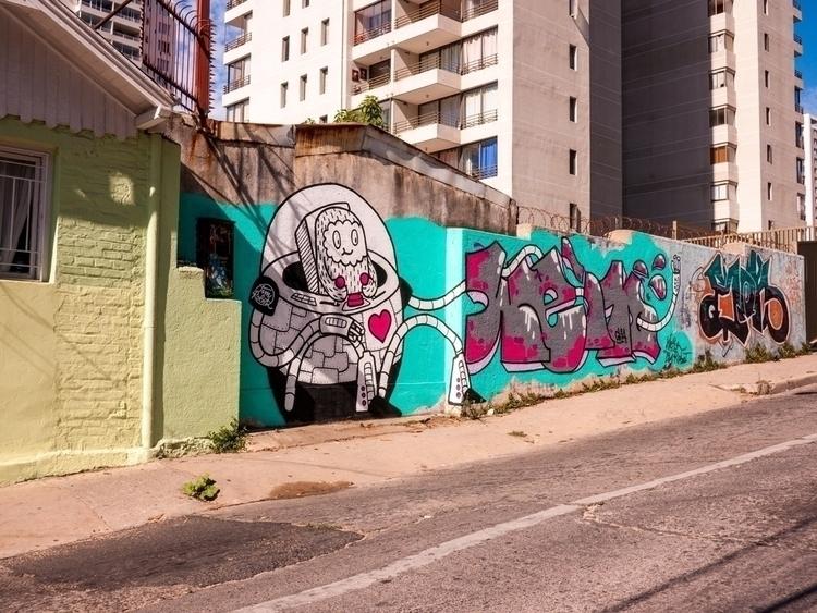 Chile Streets. Viña Del Mar - timrobot | ello
