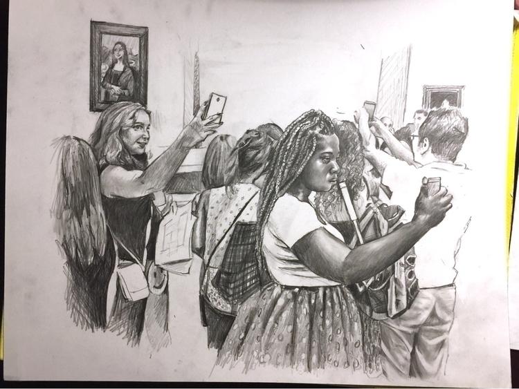 Sketch painting progress - putyourdamnphonesdown - candiceflew | ello