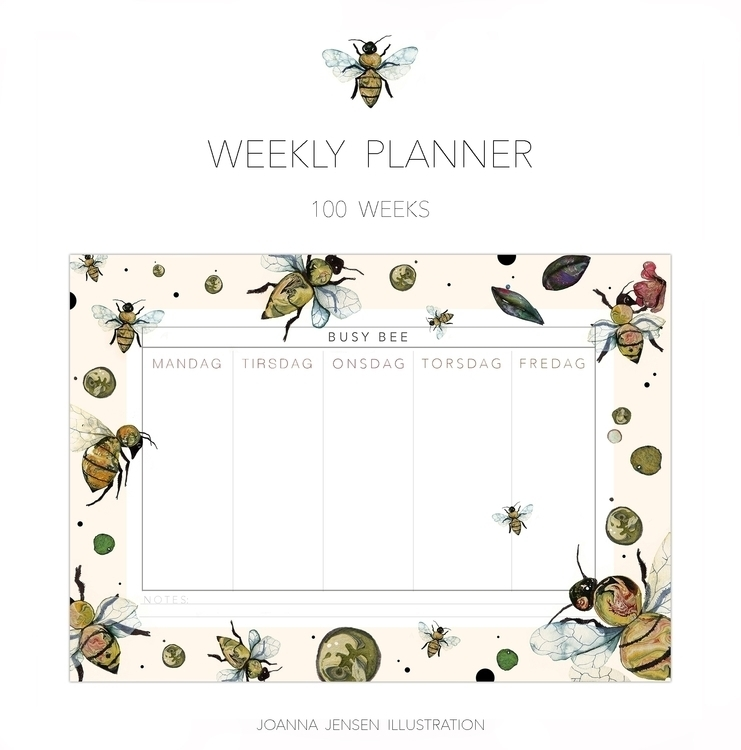 weekly planner! - 100 weeks Dan - joannajensen | ello