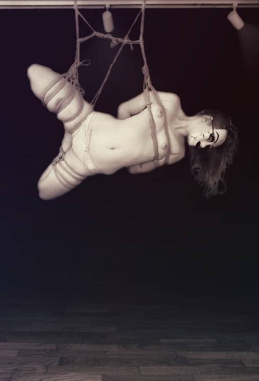 Photograph rope suspension frie - dead_splicer | ello