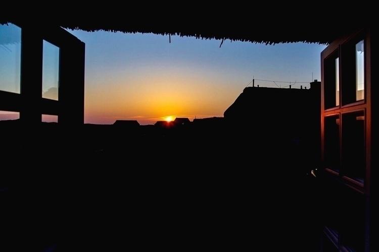 Sunset Kampen (Island Sylt Nort - lapideo | ello