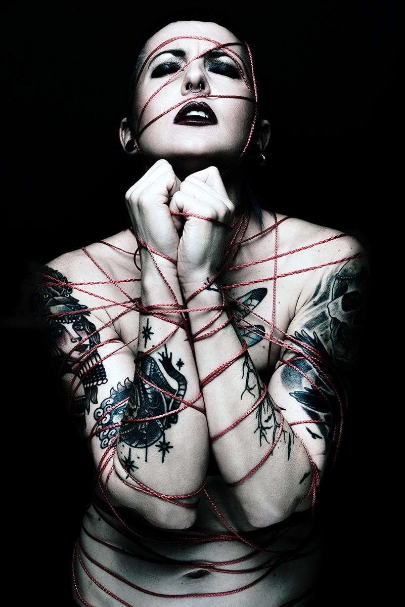 Photographer: Isabelle Martens  - darkbeautymag | ello