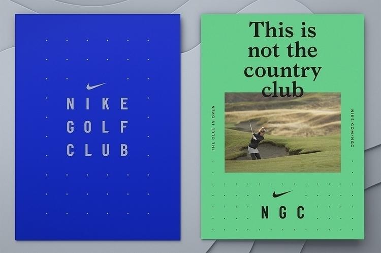 Brand identity Nike Golf Club d - northeast | ello