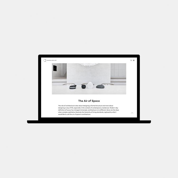 Volume Silence Space — series a - minimalismlife | ello