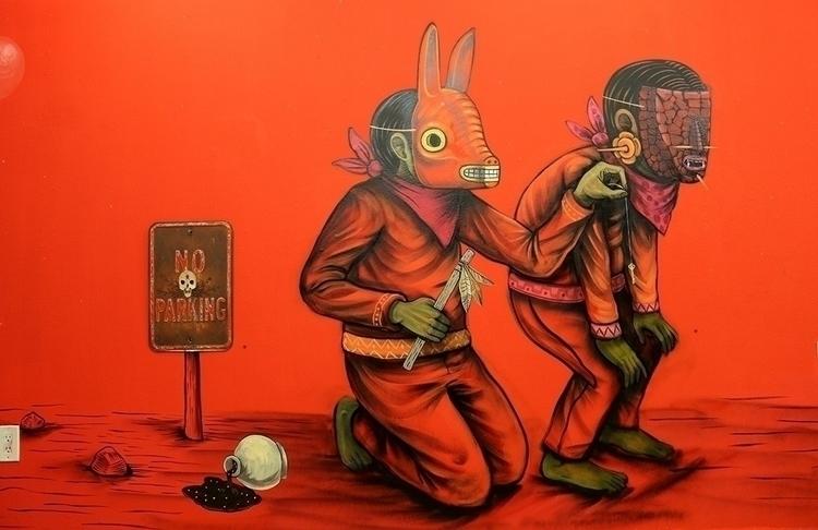 work Mexico City artist Edgar S - helliongallery | ello