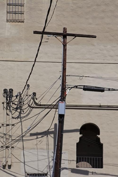 Telephone Pole, Ave 56 Figueroa - odouglas   ello