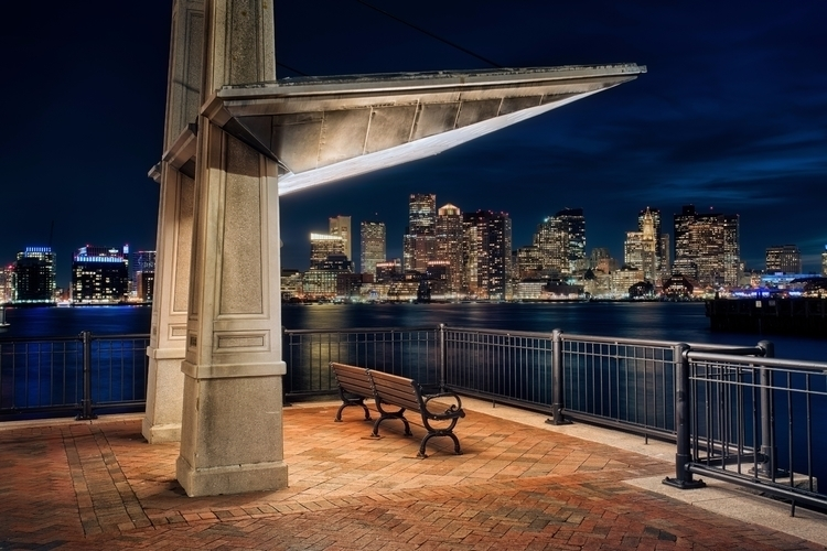 Boston Evening clouds - photo, boston - joelcorrente | ello