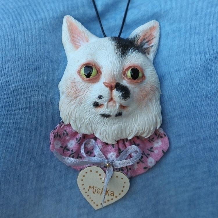 Cat pendent Octoplum (Paloma Sm - skeenep | ello