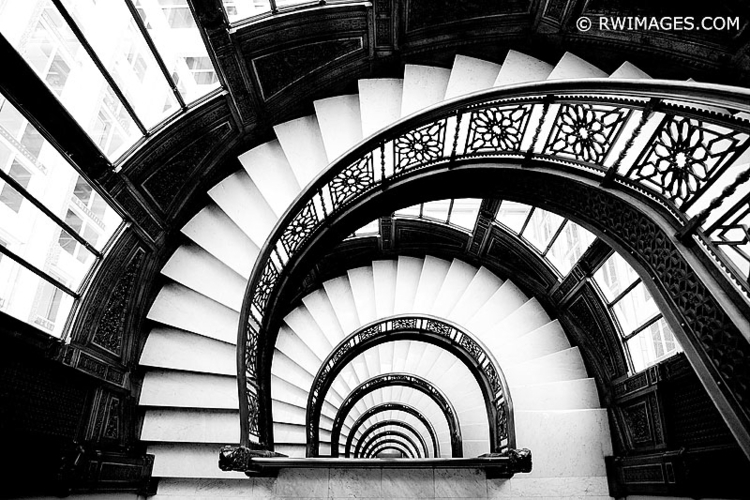ROOKERY BUILDING STAIRCASE CHIC - rwi | ello