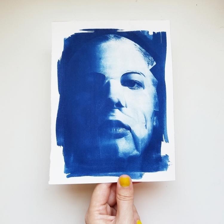 cyanotypes sheet mask reference - megankoth   ello
