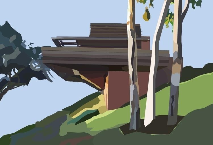 George Sturges House built Fran - sophieillustration | ello