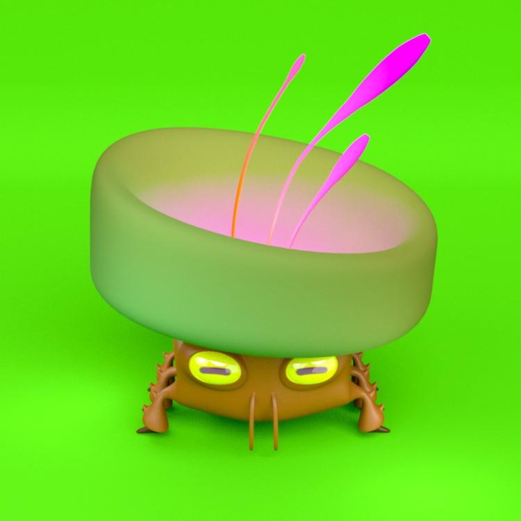 concept Tipa_Graphic - 3d, cgi, blender - danplk | ello