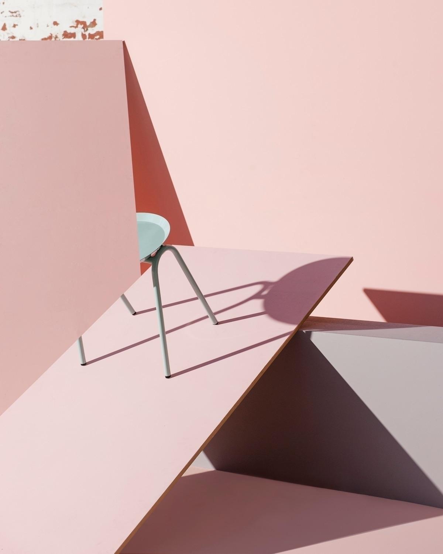 Hurdle Tray side table pink pan - doweljones | ello