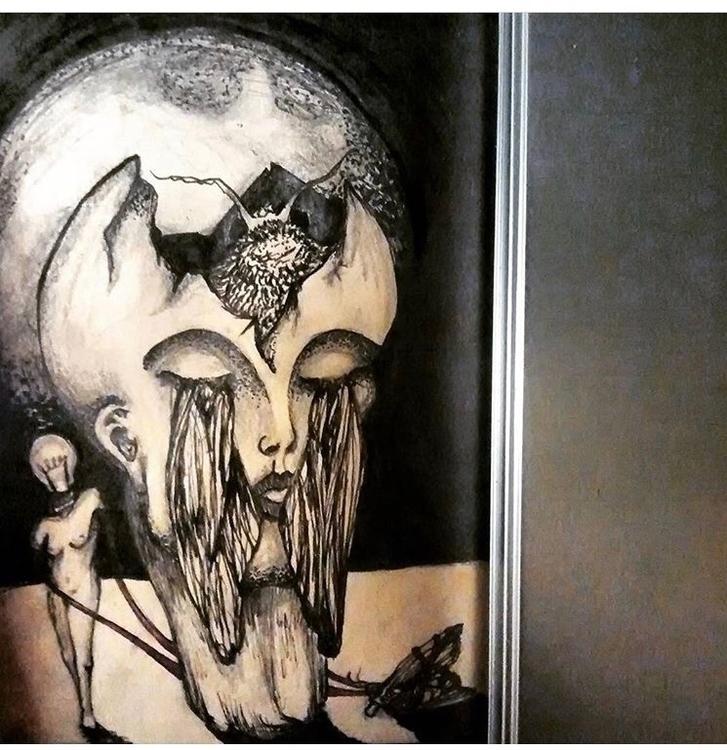 Insomnia A5 ink sketch represen - sarjon_art | ello