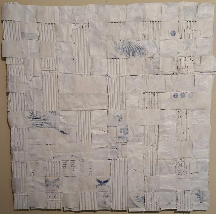 Untitled 2, 26 25, Paper paint  - artistpabs | ello