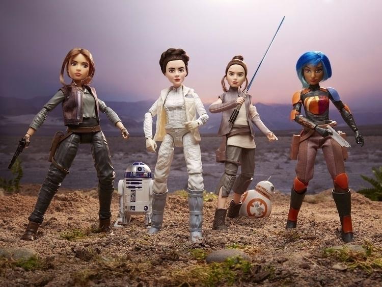 Star Wars heroines due Forces D - bonniegrrl | ello