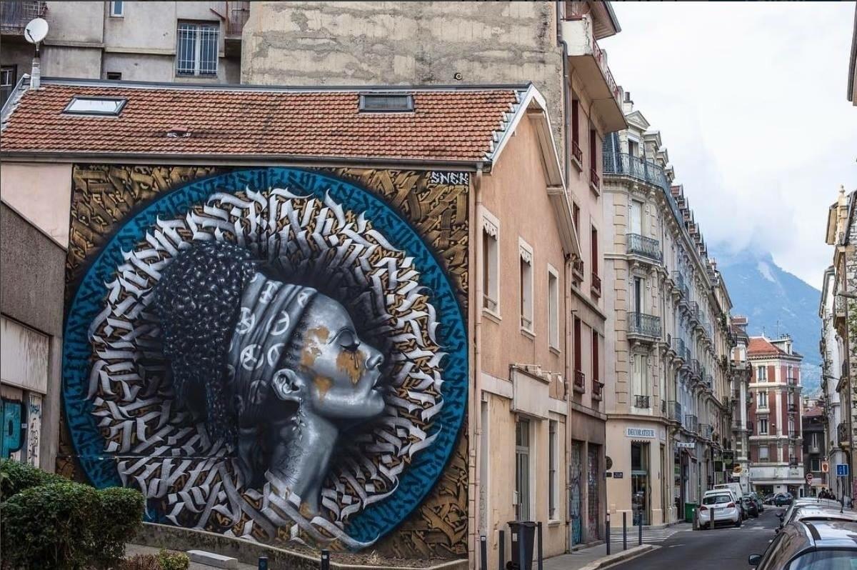 Artist: Snek Graffiti Calligrap - streetartunitedstates   ello